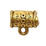 Torukujuline riputis aasaga / Ornamental Charm / 12 x 8mm
