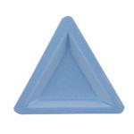 Pärlite, helmeste, kristallide sorteerimise-valamise kauss, sametkattega, 3tk / 3pc Flocked Bead Sorting Tri-Trays / Beadalon (USA) / 207A-031 -031MZ