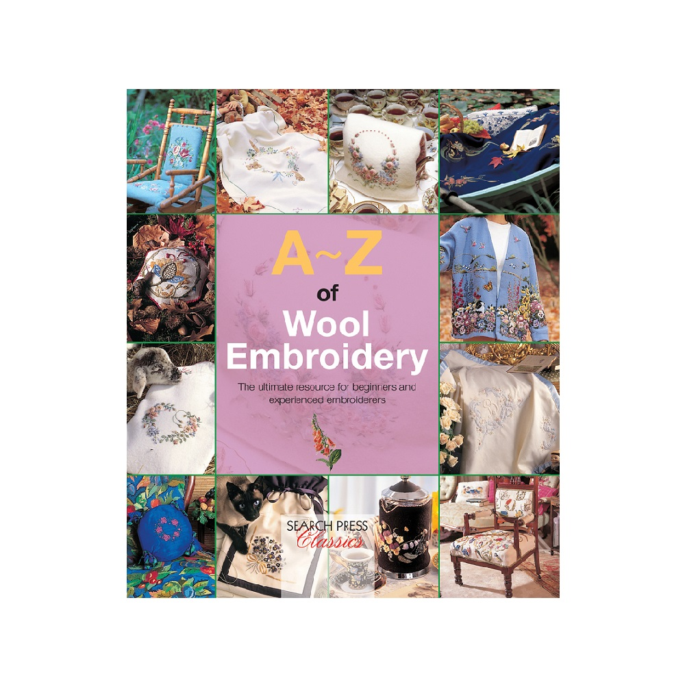 "Raamat ""A-Z of Wool Embroidery"""