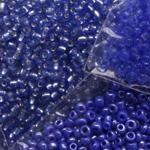 Sinised klaaspärlid