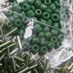 Rohelised klaaspärlid