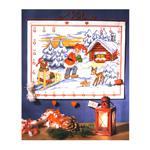 Jõulukalender 60x48cm