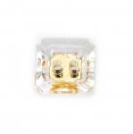 Kandiline kristallilaadne akrüülnööp 12mm, 20L