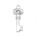 Plastic Key Charm / 33 x 18 x 5mm