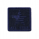 Triigitav Aplikatsioon; `All star`/ Embroidered Iron-On Patch 4,5cm