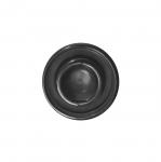 Must, reljeefse mustriga, kannaga plastiknööp 18mm/28L