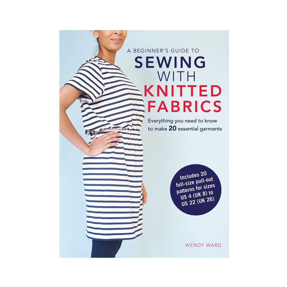 "d70c2c6795f 13.17 € Raamat ""A Beginner`s Guide to Sewing with Knitted Fabrics"""