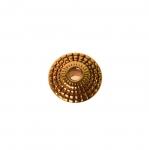 Kettakujuline, antiikse mustriga ehte vahedetail 8x3,5mm