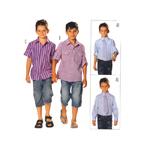 Pluus 122- 158cm /Shirt Burda 9524