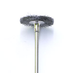 Roostevabast terasest ketashari / Stainless Steel Bristle Disc Brush with Stem