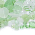 Pärlisegurohekates toonides eri suurusega pärlitest 5-20mm, 100/50g pakk