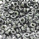 Pärlisegu Tumehallikates toonides pärlitest AB-kattega 6-7,5mm, 100/50g pakk