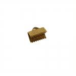 Otsakinnis, paelaotsik (nahkpaela kinnitus)/ Cord End C-Crimp, Dimple Pattern/ 10mm