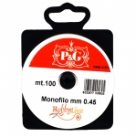 Tamiil ehete valmistamiseks / Monofilament Cord / 0.45 mm; 100m (P&G, Hobbyline)