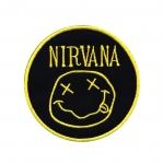 Triigitav Aplikatsioon; ansambel Nirvana logo 7,5cm