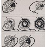 Декоративные пуговицы для обвязывания ø22 мм, 10 шт, Prym 312102