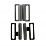 Rinnahoidja metallkinnis 20mm paelale / Metal Bra Lock, Bra Fastener for 20mm strip