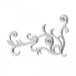 Triigitav nurkmine ornament 10,5x7,5cm