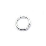 925 Hõbedast ühendusrõngas / 925 Silver Jump Ring / 6 x 0,8mm
