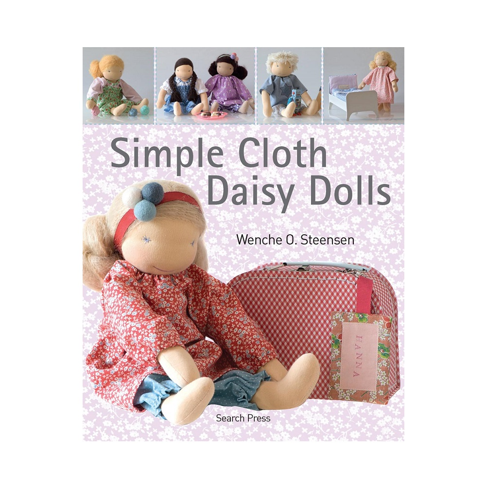 Raamat `Simple Cloth Daisy Dolls`