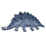 Triigitav Aplikatsioon; Saurus ogadega / Embroidered Iron-On Patch; Stegosaurus / 9,5 x 4,5cm