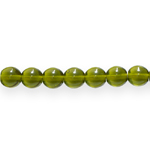 Traditional Czech glass round beads, Jablonex, 10mm