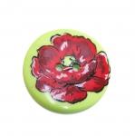 Ümar lillega värviline nööp ø34 mm, suurus: 54L