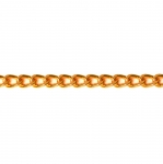 Decorative metal chain (aluminum) 10 x 7 x 2 mm