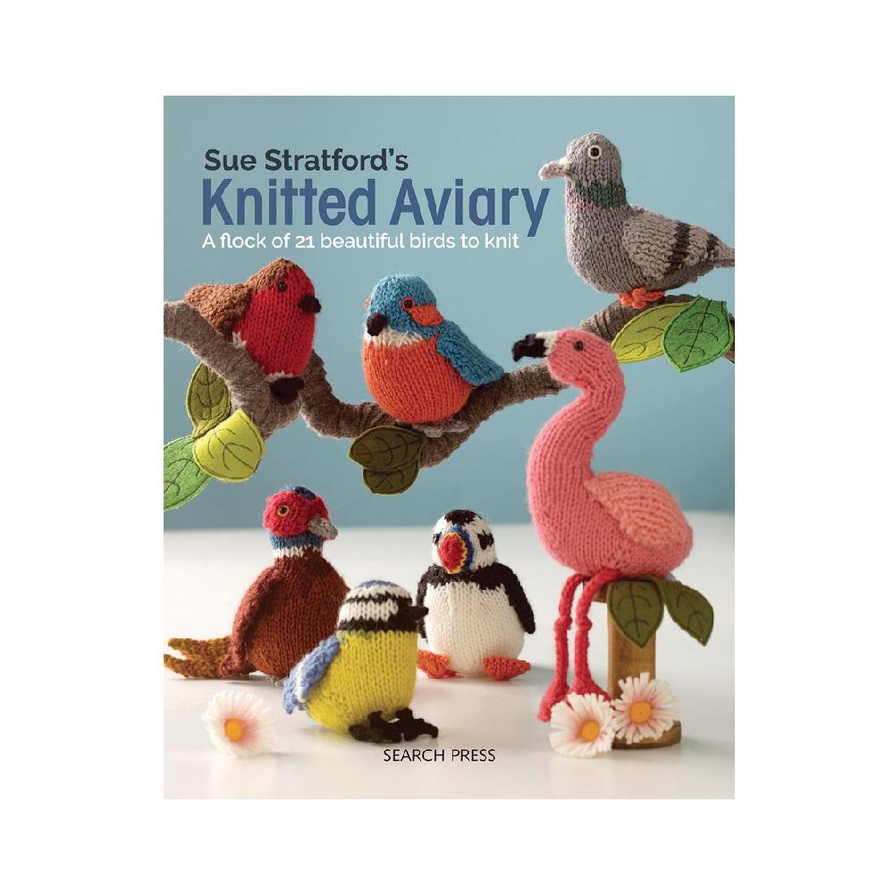 "Raamat ""Sue Stratford's Knitted Aviary"""