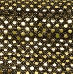 Litritega kaunistatud, kergelt läbipaistev kangas, laius 114cm