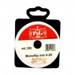 Tamiil ehete valmistamiseks / Monofilament Cord / 0.2 mm; 100m (P&G, Hobbyline)
