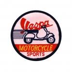 Piltaplikatsioon , mootorratta sport, Vespa `Motorcycle Sports, Vespa` 6,5cm