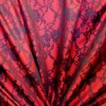Pidulik, kauni läikega, kerge reljeefse pitsimustriga kostüümikangas 618536; 138cm