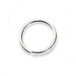 925 Hõbedast ühendusrõngas / 925 Silver Jump Ring / 7 x 0,8mm