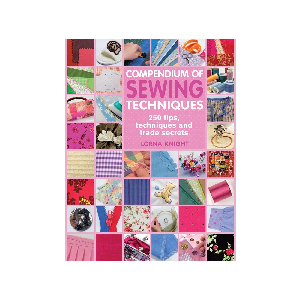 Raamat `Compendium of Sewing Techniques`