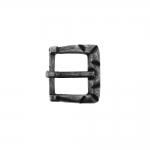 Metallist, kandiline, reljeefse mustriga väike pannal 17x15mm