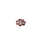 Bead Cap with Flower Pattern / 6mm