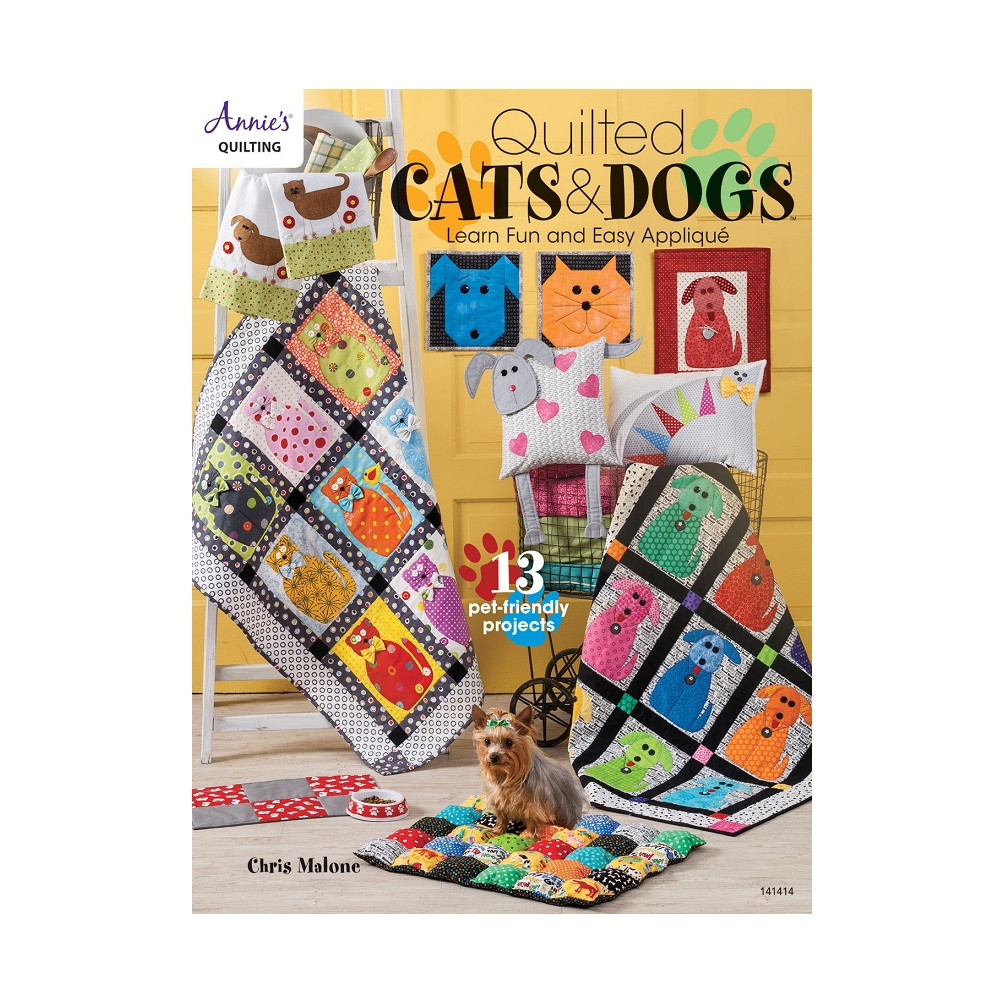 "Raamat ""Quilted Cats & Dogs"""