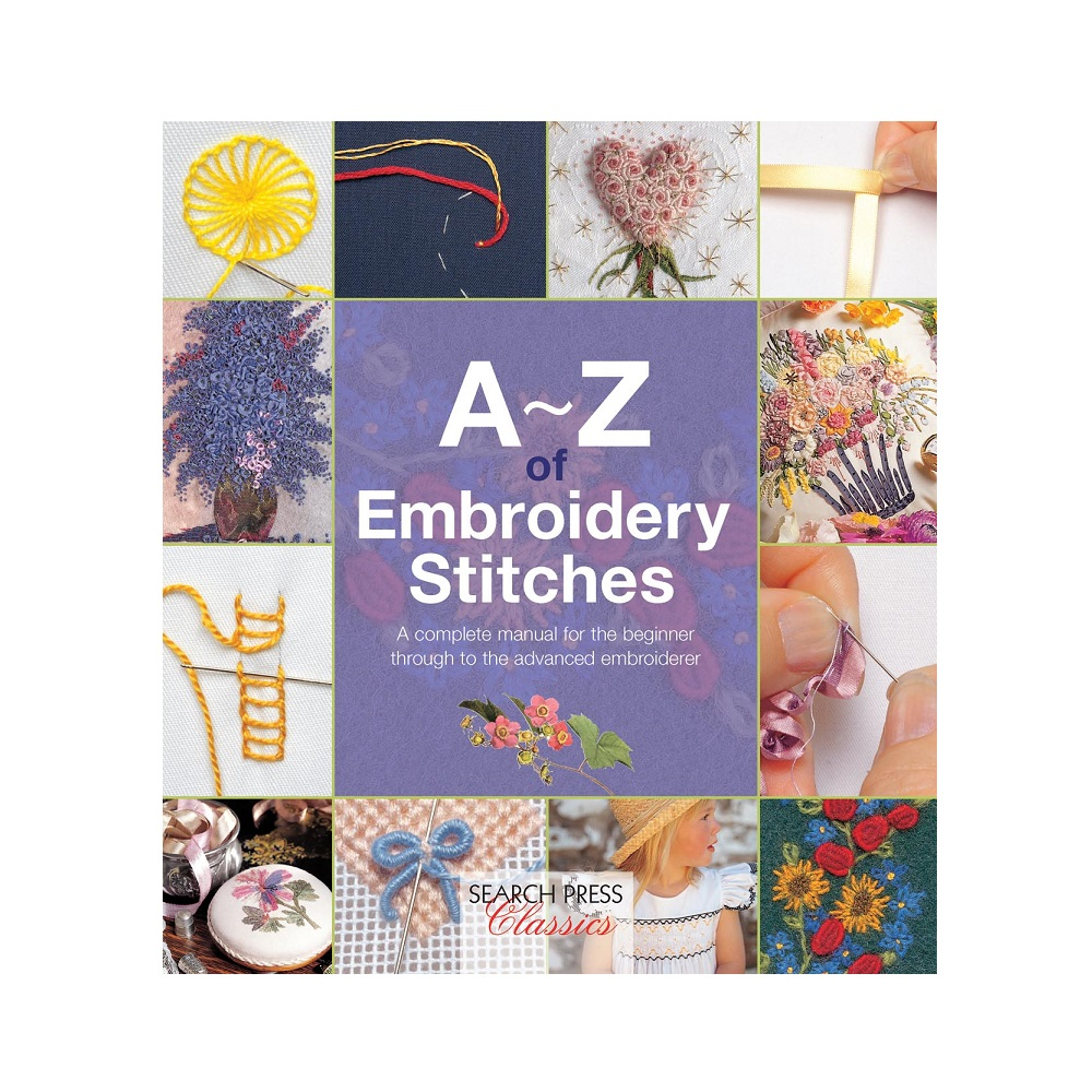 """Raamat """"A-Z of Embroidery Stitches"""""""