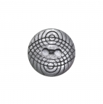Metal button 15mm, 24L