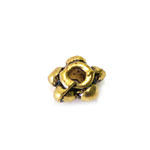 Ornamental Jewellery Spacer with Flower Pattern / 5 x 3mm