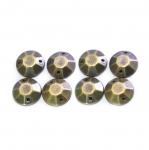Metallilaadsed, tahulised plastikust dekoratiivkivid 12mm, 8tk pakis