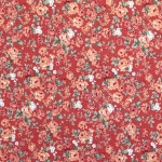 Lillemustriga puuvillane kangas, 140cm 120.656