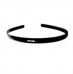 Minimalistlik, läikivast plastikust peavõru toorik 14x12cmx8mm