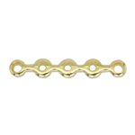 Piklik 5 aasaga riputis/vahedetail / 5-Hole Cord Spacer Waves / 17 x 2mm