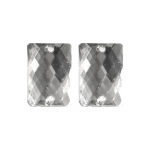 Ristkülikukujuline plastkristall 25x18mm