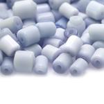 Pärlisegu, kassisilmad, silindrikujulised piklikud 6x6mm; 1 pakk