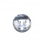 Ümar kristallilaadne akrüülnööp 12mm, 20L