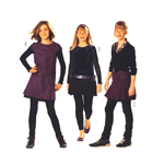 Kleit & seelik 128 - 164cm /Dress & Skirt Burda 9531