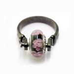 Lahtikruvitav sõrmusetoorik Pandora tüüpi helmestele / 22mm